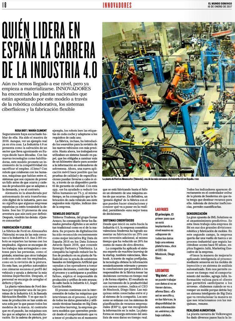 Industria 4.0 - IML Solutions