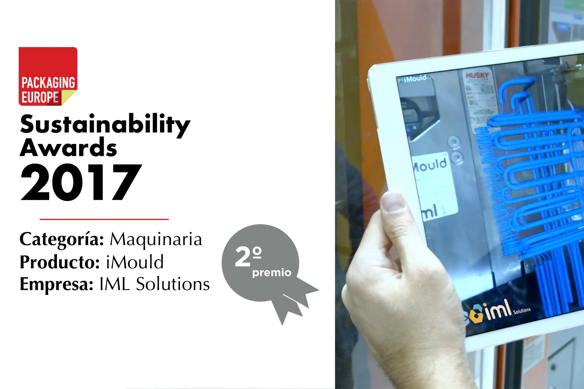 iMould, premiado en los Sustainability Awards
