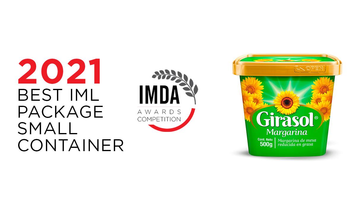 GIRASOL, elegido mejor envase IML en los IMDA Awards